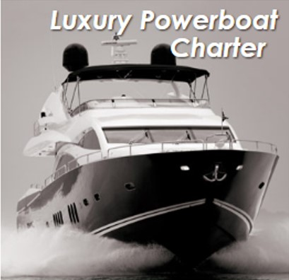 Luxury Powerboat Charter corporate event