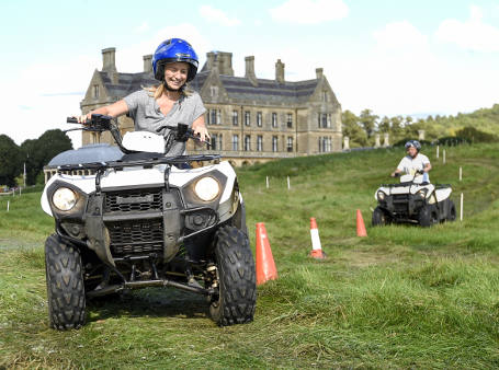 Motorised Mayhem team building event