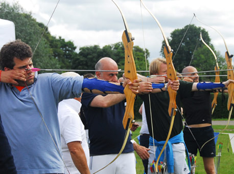 The Games corporate team building events - Archery