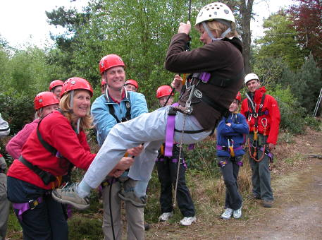 New Forest Experience team building event