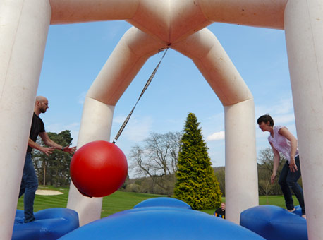 It's a Knockout corporate team building