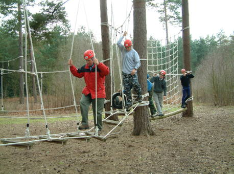 New Forest Experience team building