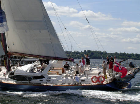 Power and Sail Charter corporate team building
