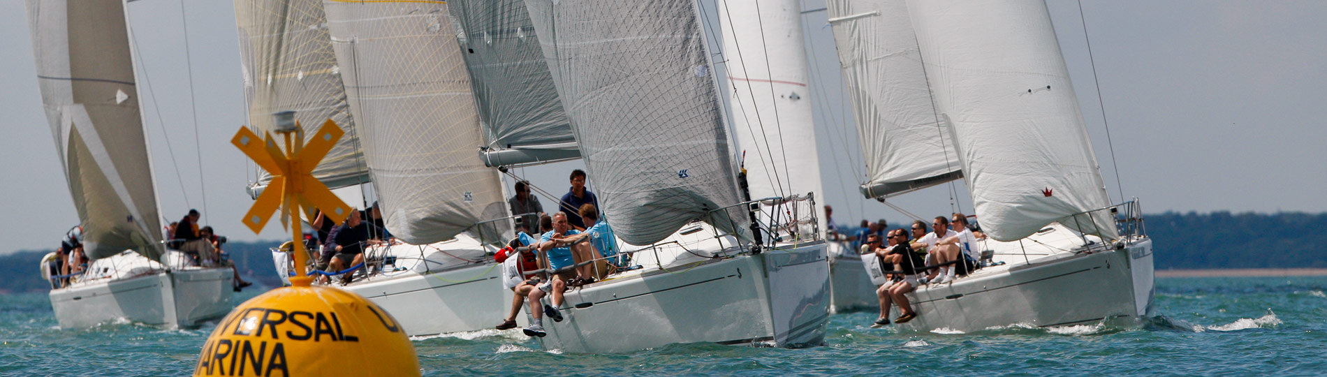 Take part in a sailing regatta regardless of age, ability or experience