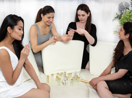Perfumery Workshop corporate team building event