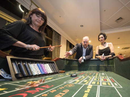 Casino Nights corporate team building event