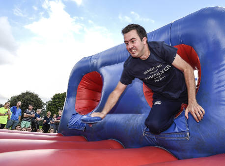 It's a Knockout team building event