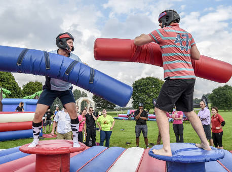 It's a Knockout team building events