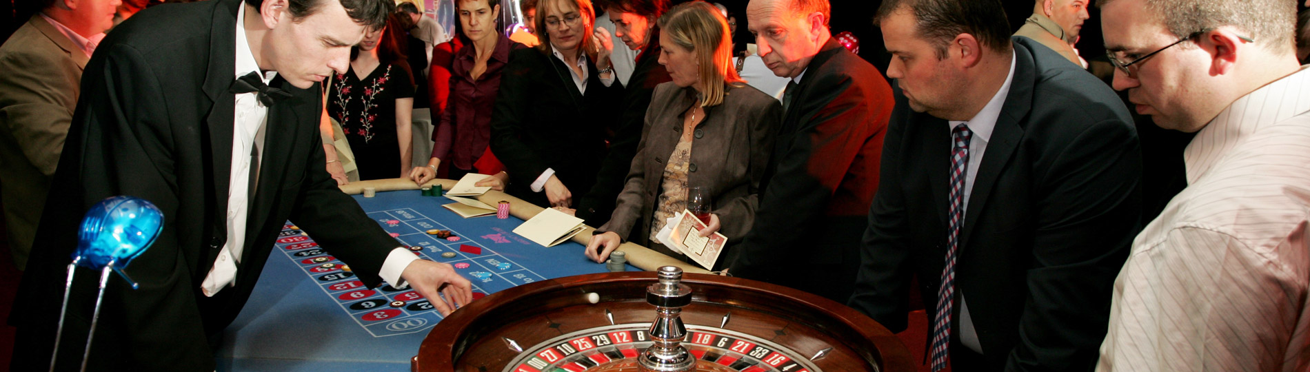 The glamour and excitement of a Las Vegas Casino without any of the risk – ideal for company parties and evening events
