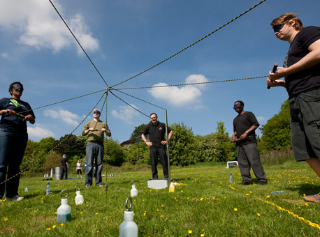 Corporate team building events - Crystal Challenge