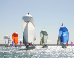 Cowes Week Spinnakers
