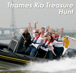 River Thames Rib Treasure Hunt